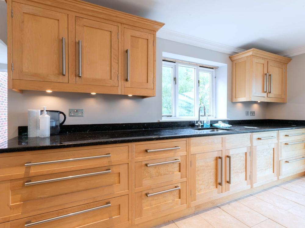 Handmade Wooden Kitchen with Appliances