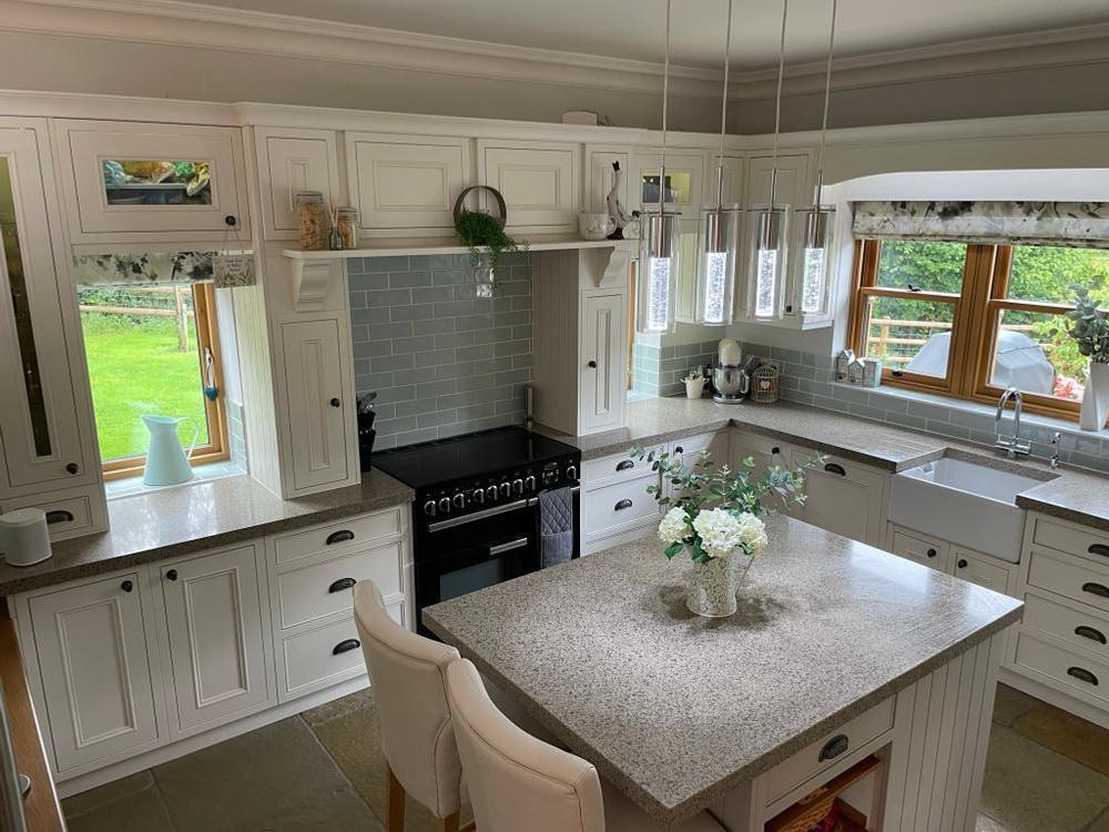 Bespoke Painted Wooden kitchen