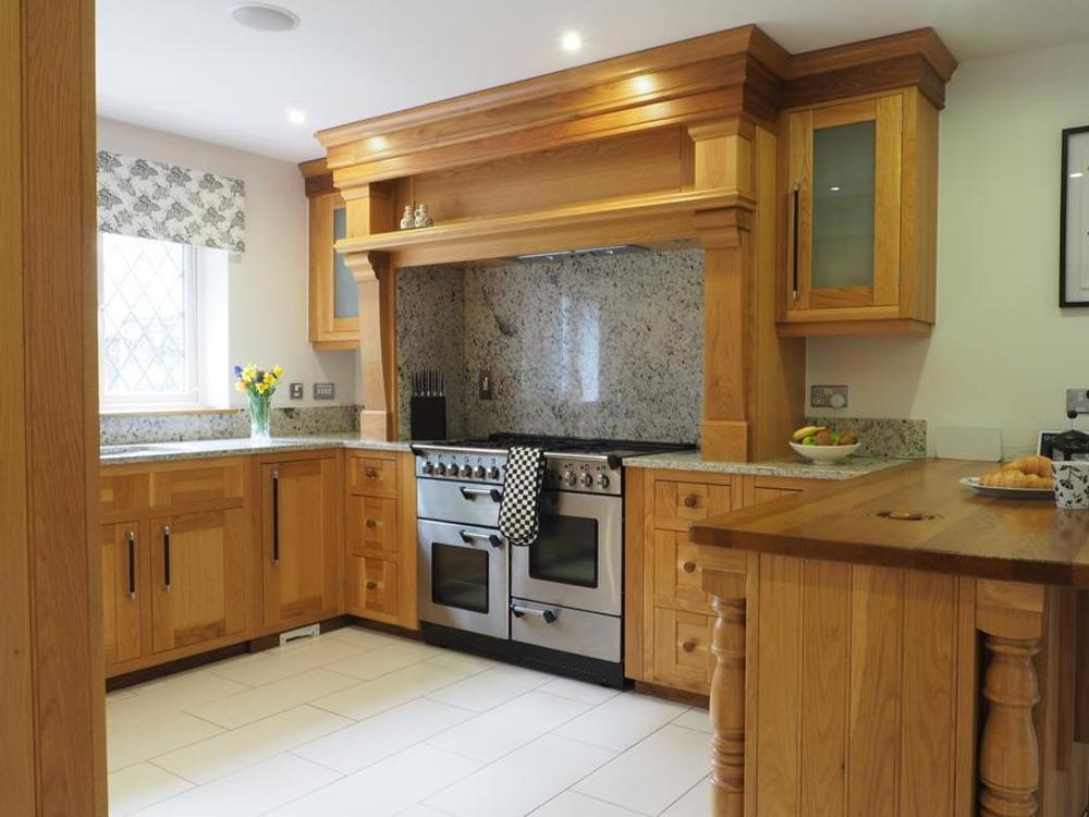 Bespoke Wooden Kitchen with Granite Worktops