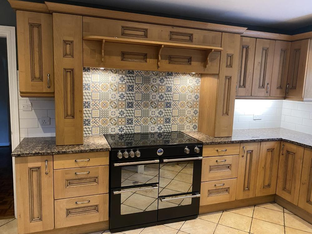 Traditional Kitchen with Granite