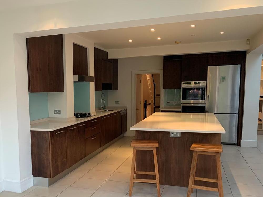 Modern Kitchen with Appliances & Quartz Worktops